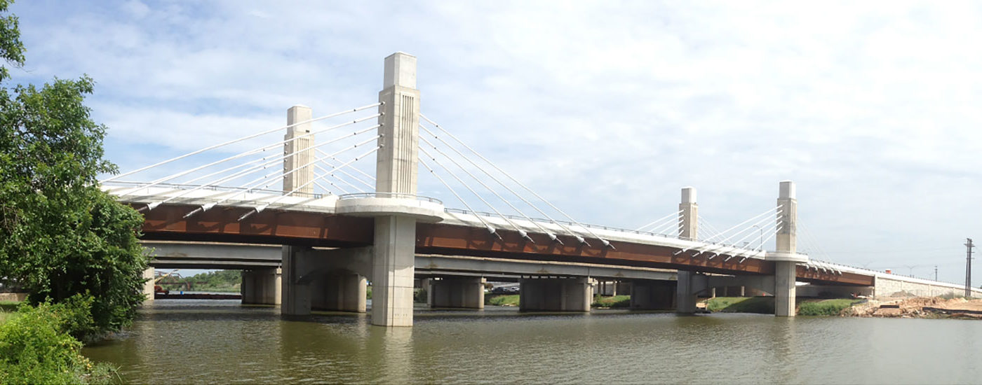 I-35 Brazos River Bridges. Waco, TX